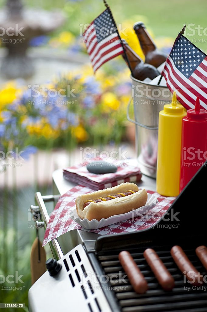 Independence Day Barbecue stock photo