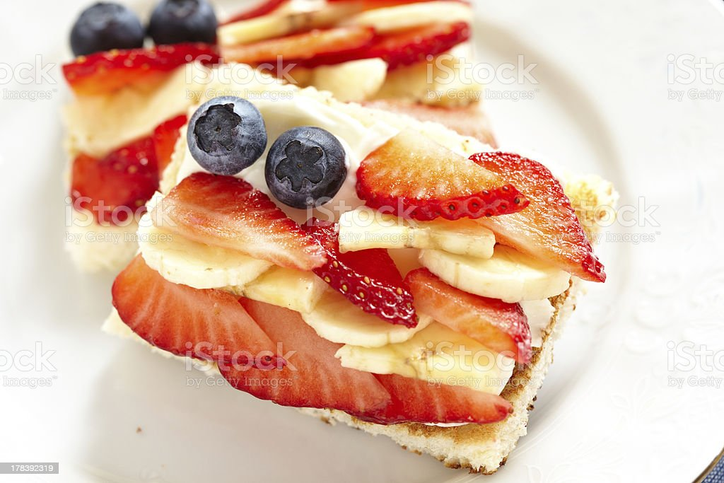 Independence day breakfast royalty-free stock photo