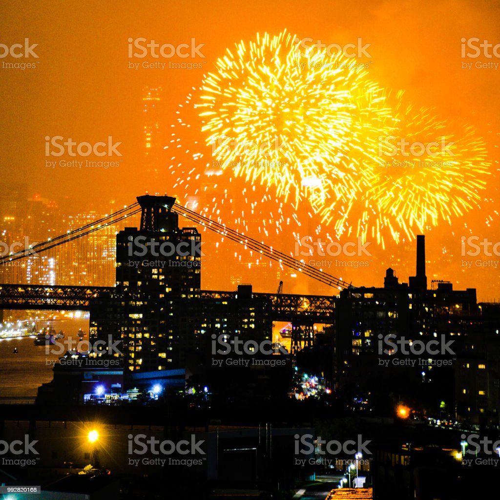 Independence Day Glory stock photo