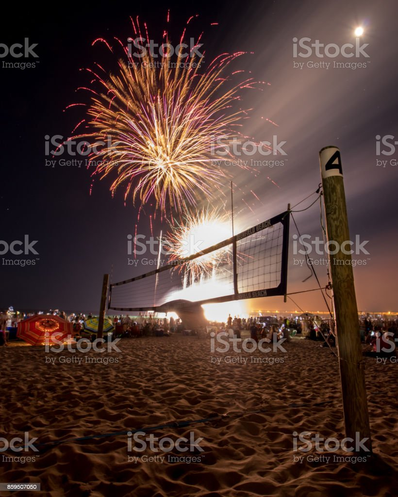 Independence Day in Florida stock photo