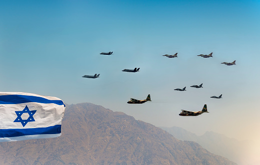 istock Independence day in the skies of Israel 949412422