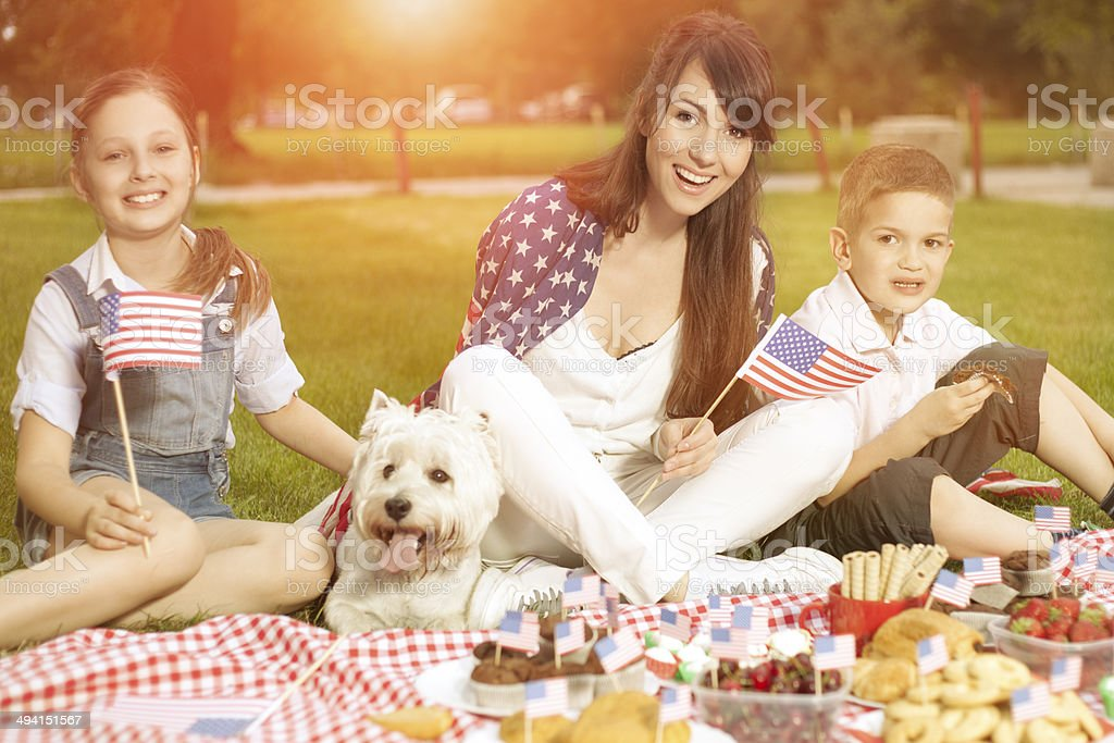 Independence Day stock photo