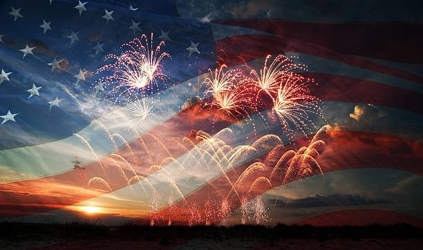 independence day - happy 4th of july stock pictures, royalty-free photos & images
