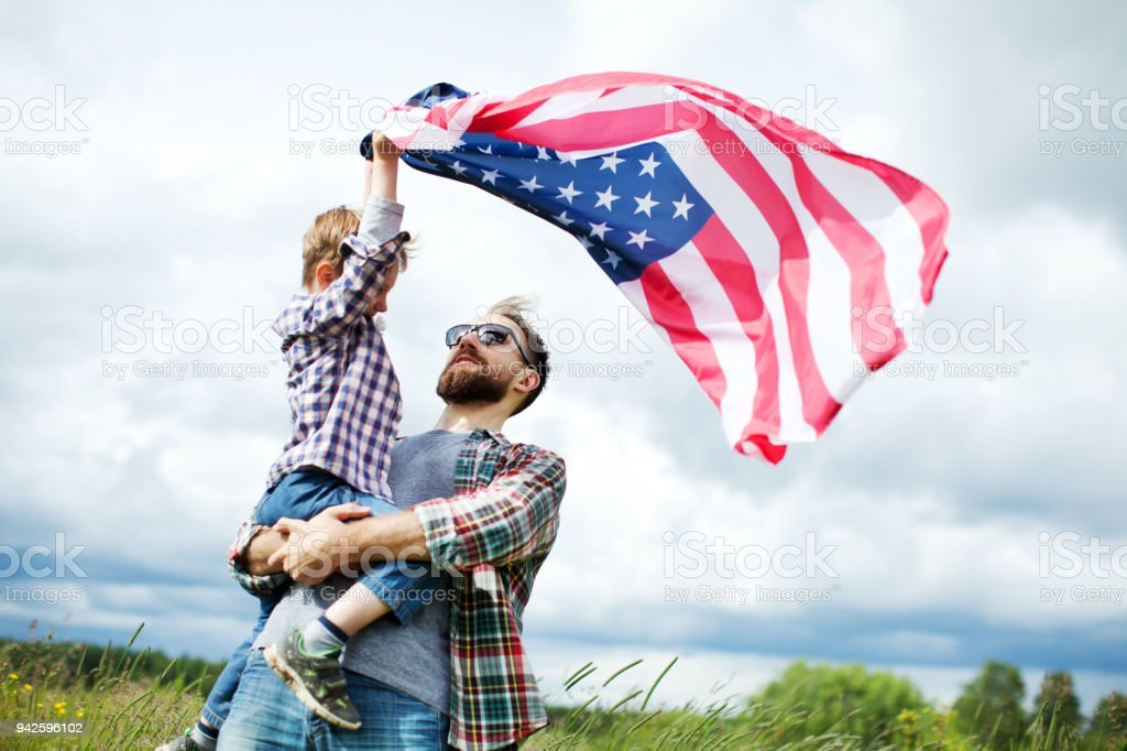 Independence day Independence day 4-5 Years Stock Photo