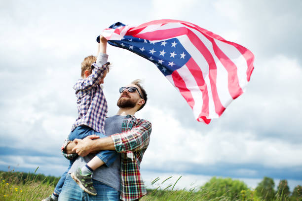 Independence day Independence day family 4th of july stock pictures, royalty-free photos & images