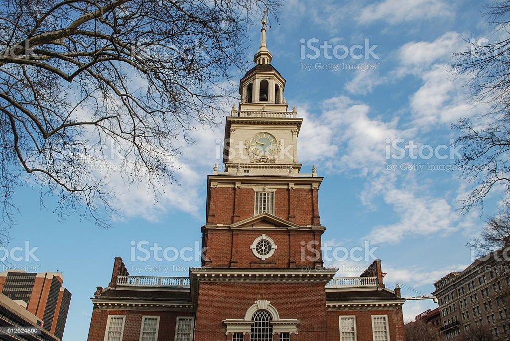 Independence Hall, Philadelphia, Pennsylvania, USA stock photo