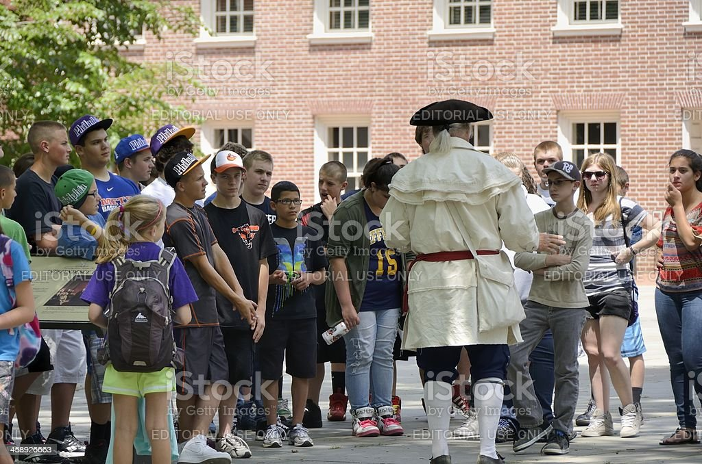 Independence Hall, Philadelphia stock photo
