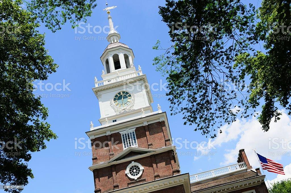 Independence Hall, Philadelphia royalty-free stock photo