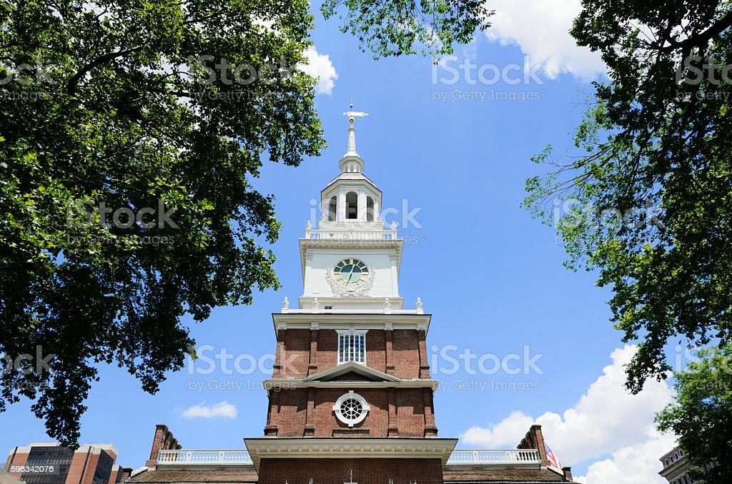 Independence Hall, Philadelphia Lizenzfreies stock-foto