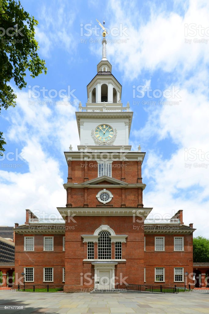 Independence Hall, Philadelphia, USA stock photo