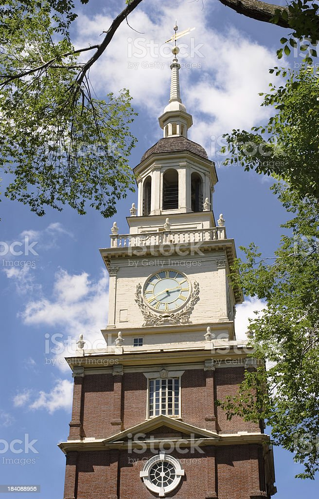 Independence Hall royalty-free stock photo