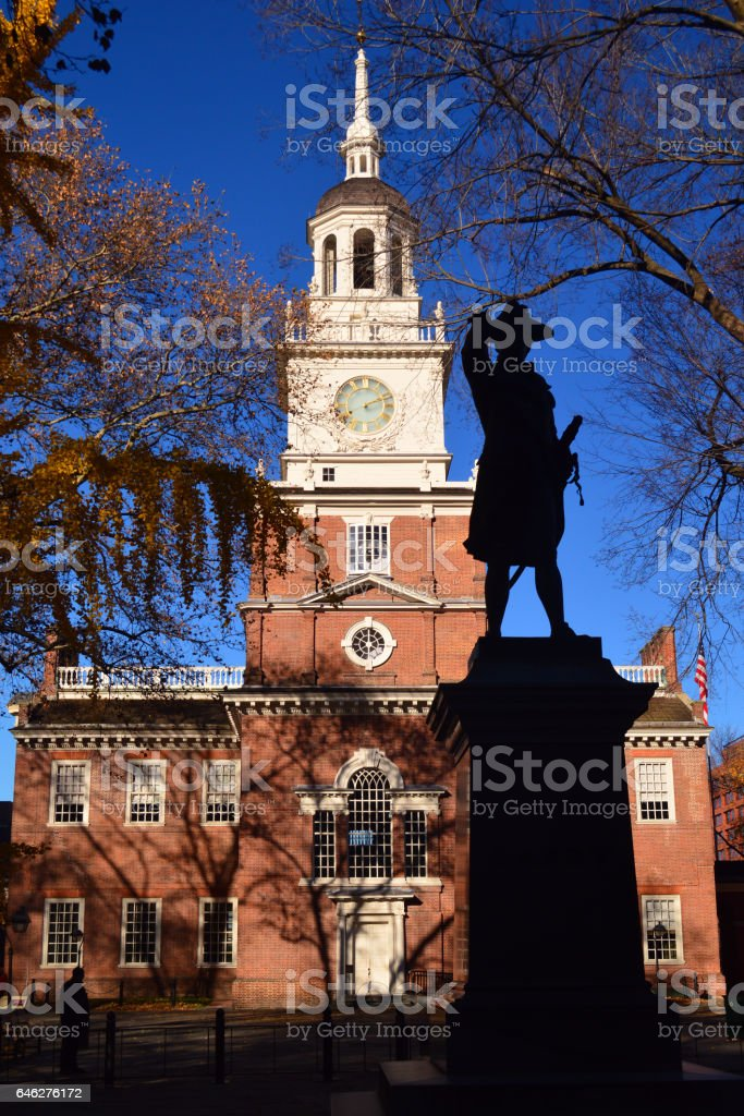 Independence Hall stock photo