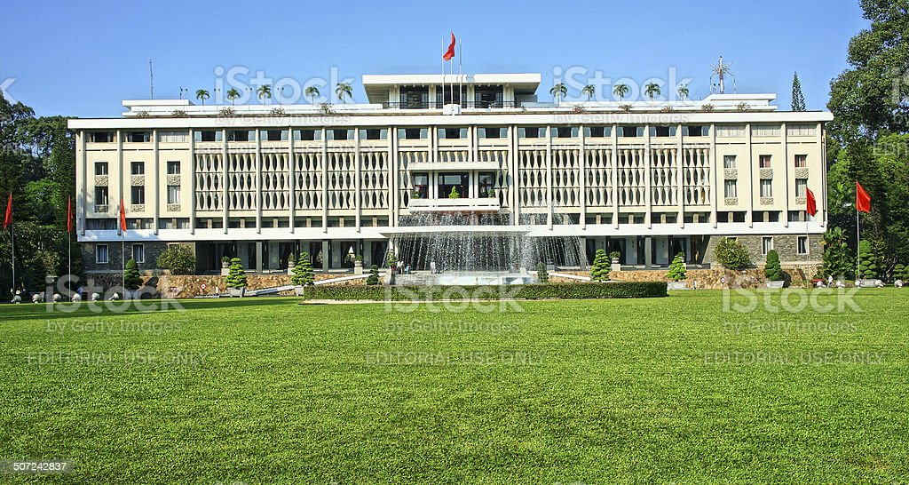 Independence Palace, Ho Chi Minh stock photo