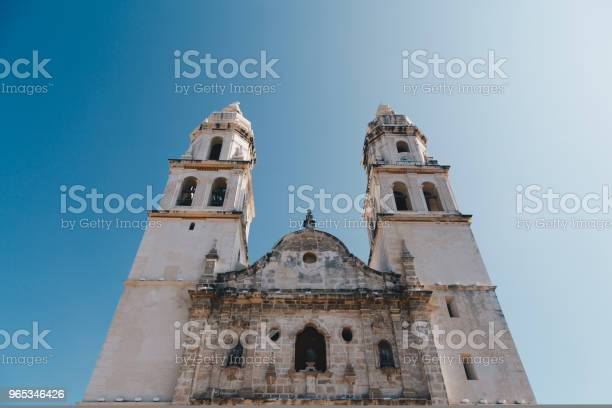 Plac Niepodległości Campeche Meksyk - zdjęcia stockowe i więcej obrazów Architektura