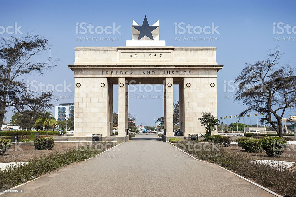 Independence Square, Accra, Ghana stock photo