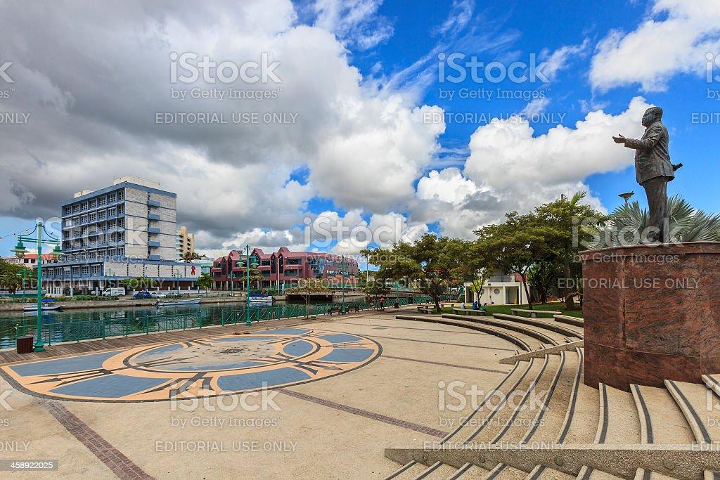 Independence Square, Bridgetown, Barbados stock photo
