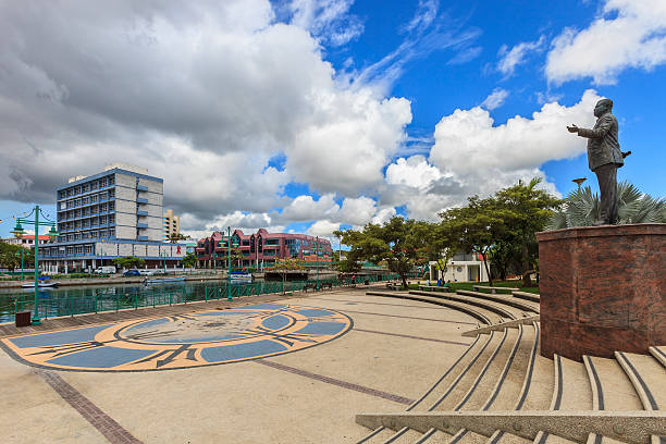 Independence Square, Bridgetown, Barbados stock photo