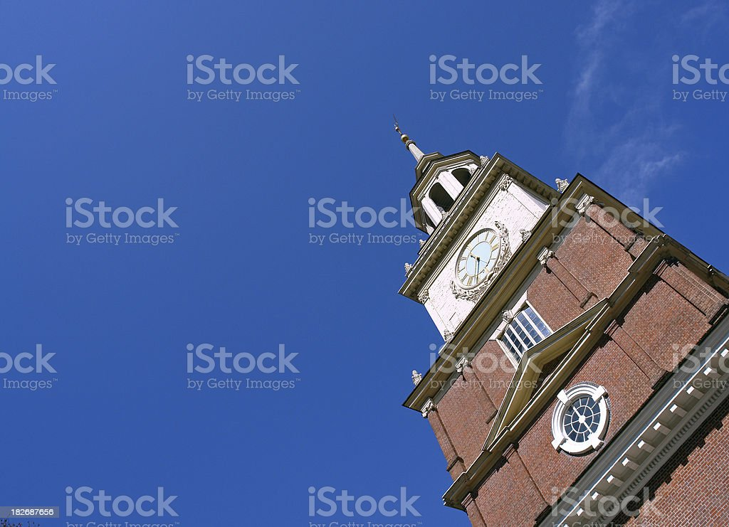 Independence tower royalty-free stock photo