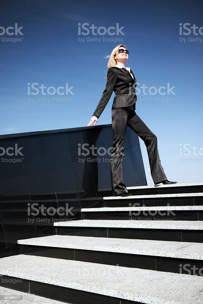 Independent Businesswoman royalty-free stock photo