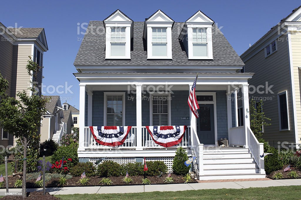 Independent Home stock photo