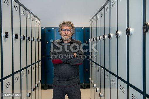 Independent Senior Man Portrait.