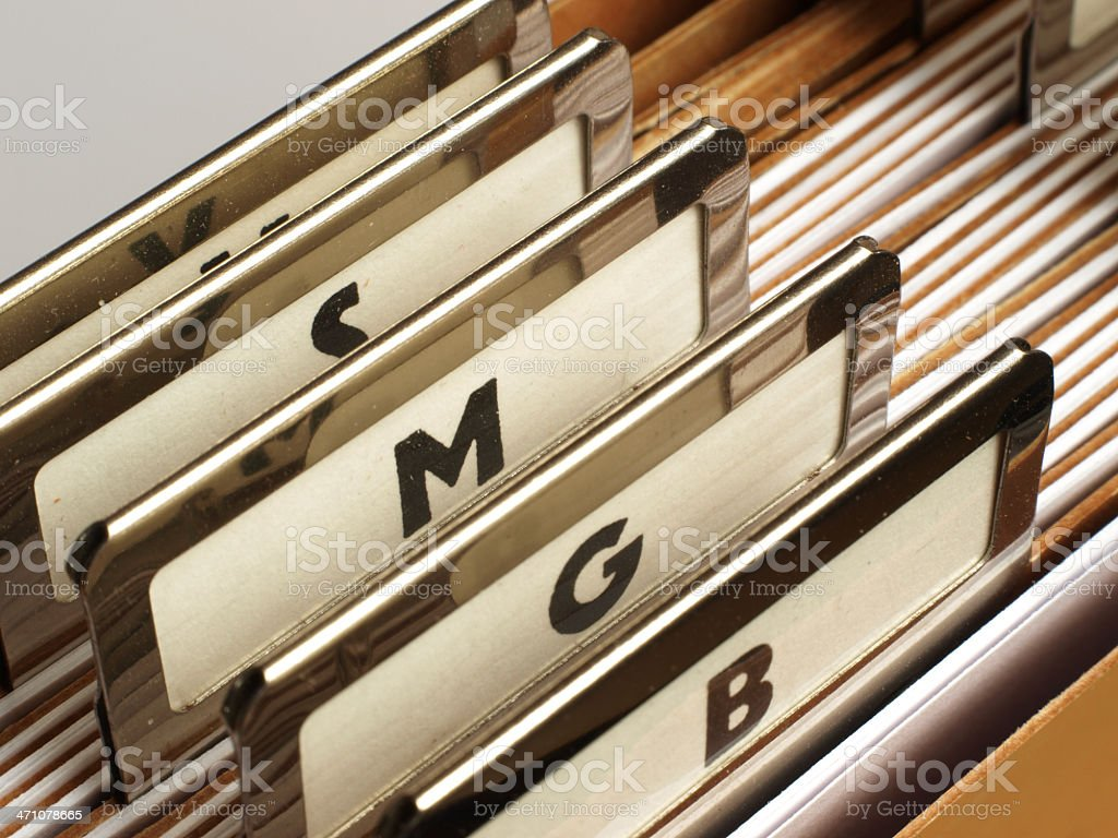 index cards royalty-free stock photo