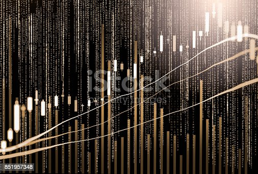 807152606istockphoto Index graph of stock market financial indicator analysis on LED. Abstract stock market data trade concept. Stock market financial data trade graph background. Global financial graph analysis concept. 851957348