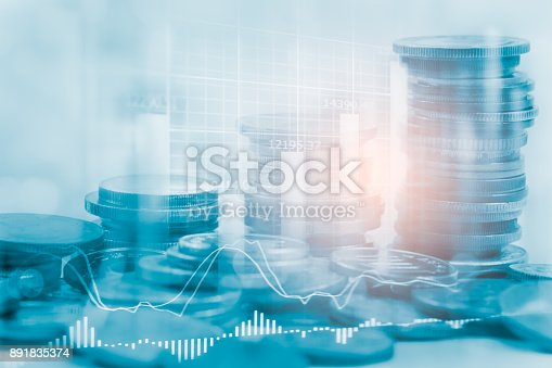 892516664istockphoto Index graph of stock market financial indicator analysis on LED. Abstract stock market data trade concept. Stock market financial data trade graph background. Global financial graph analysis concept. 891835374