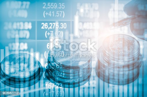 892516664istockphoto Index graph of stock market financial indicator analysis on LED. Abstract stock market data trade concept. Stock market financial data trade graph background. Global financial graph analysis concept. 903982212