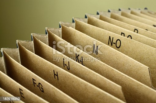 istock Indexed Folder 182915010