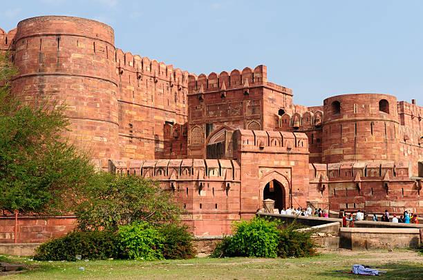 India, Agra Fort stock photo