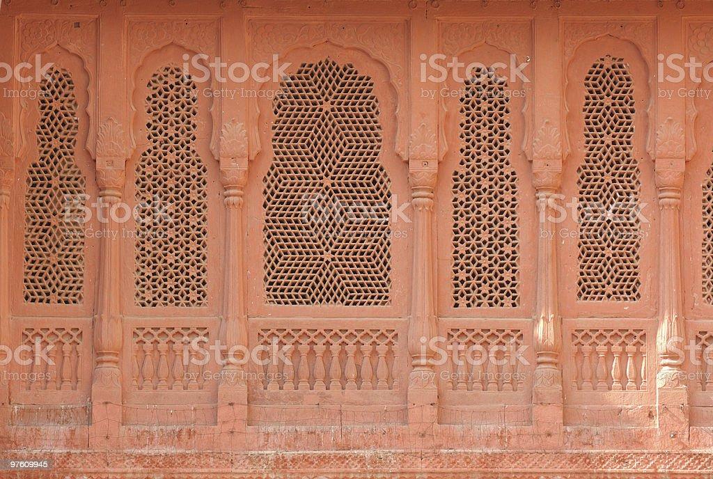 Inde, Bikaner-Palais photo libre de droits
