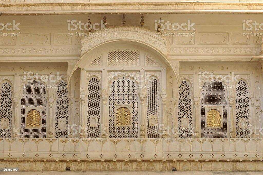 India, Bikaner - Palace royalty-free stock photo