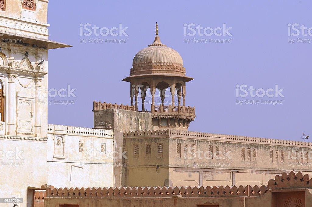 인도, 비카너-Palace royalty-free 스톡 사진