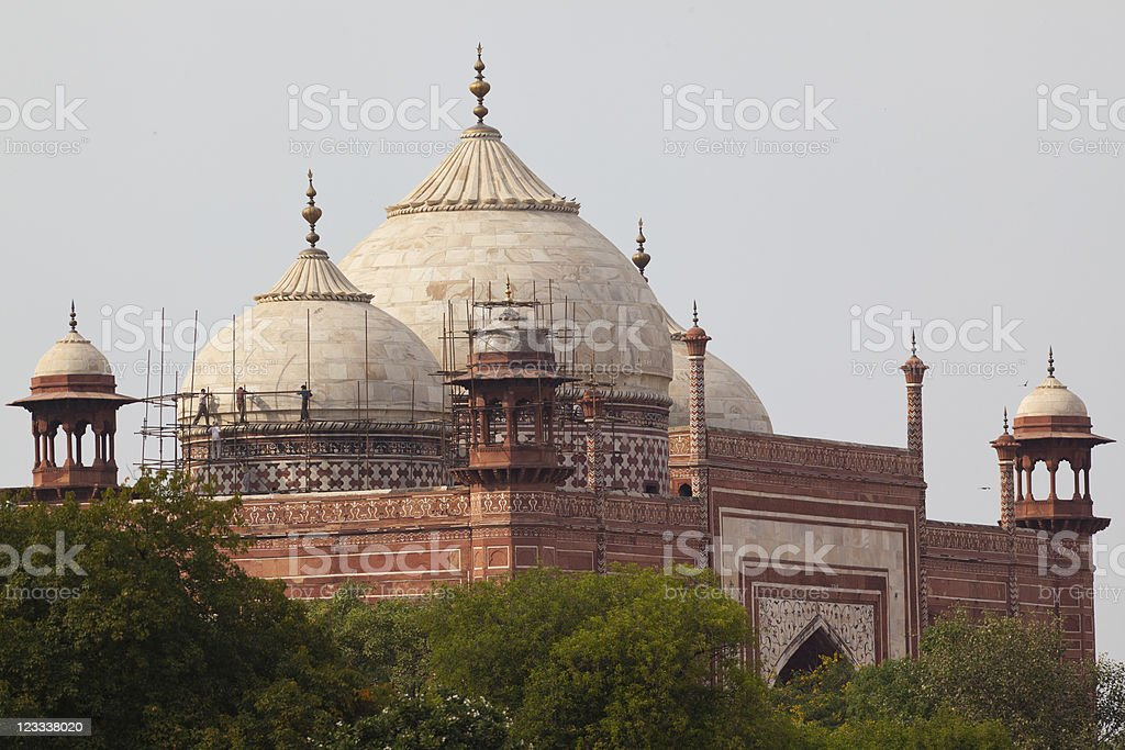 India Building royalty-free stock photo