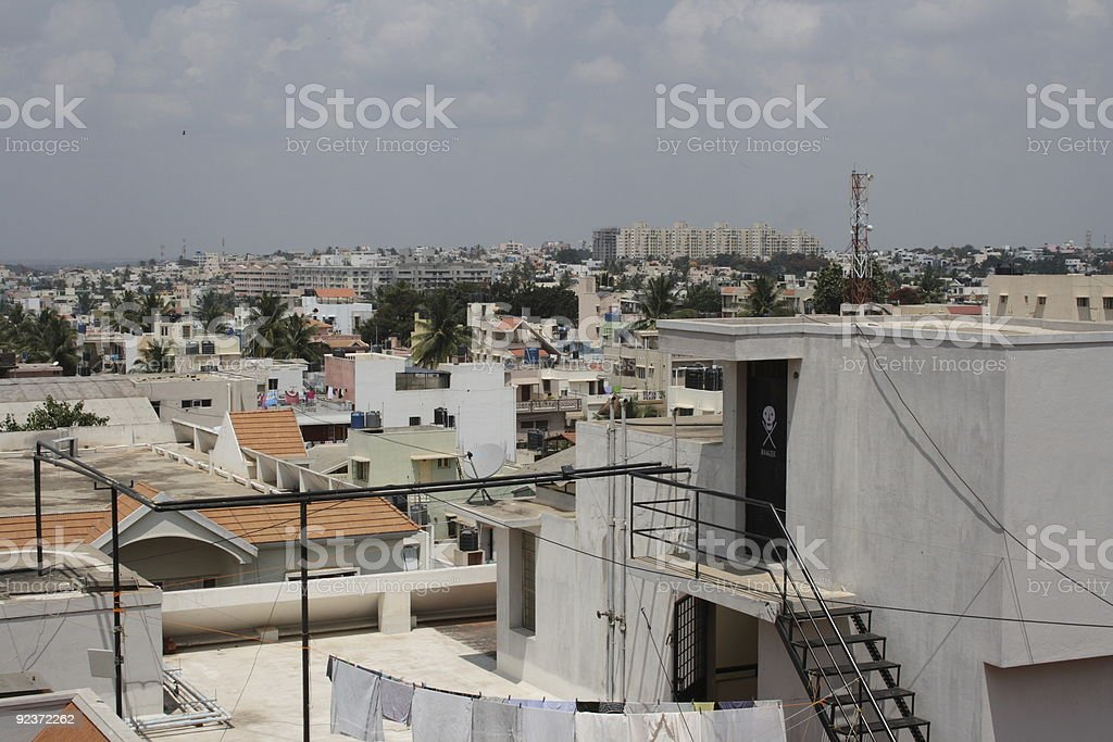 India city view royalty-free stock photo