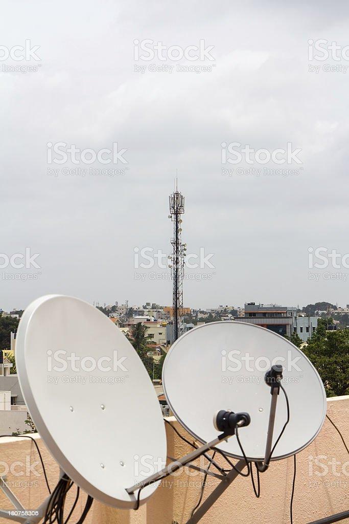 India communications royalty-free stock photo