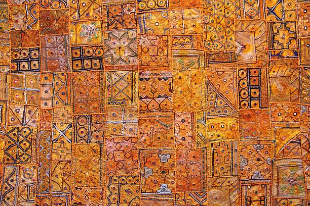 indien stoff hintergrund-patchwork - teppich baumwolle stock-fotos und bilder