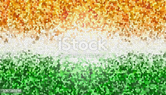 istock India Freedom Celebration Background In Honeycomb Texture 1067283186