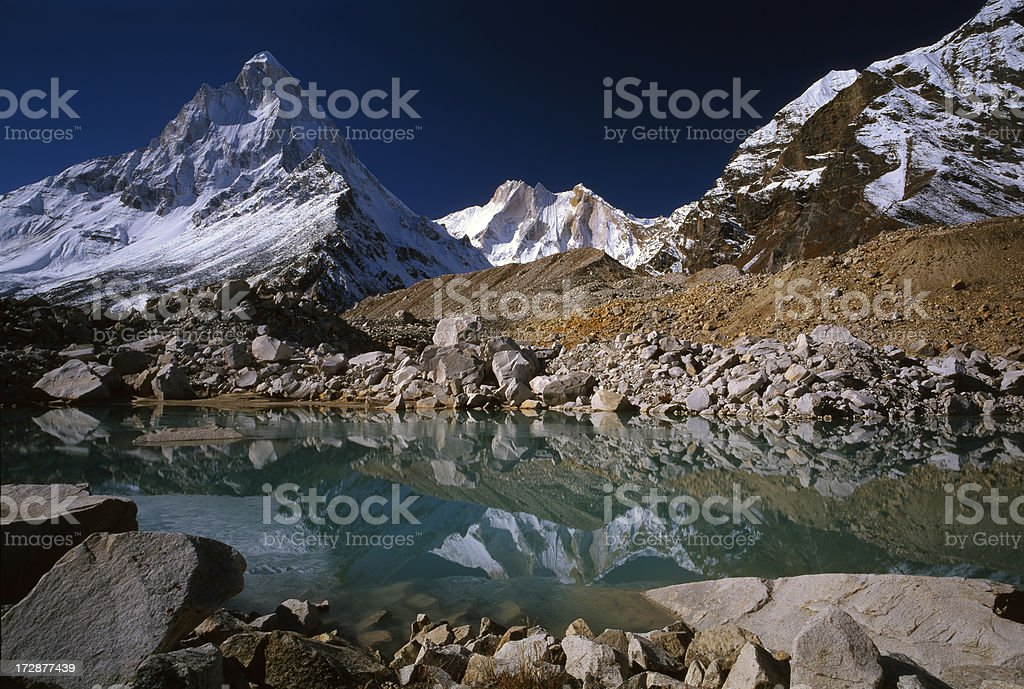 India. Garhwalu Himalayas. stock photo