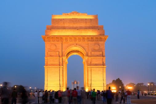 India Gate New Dehli Stock Photo - Download Image Now