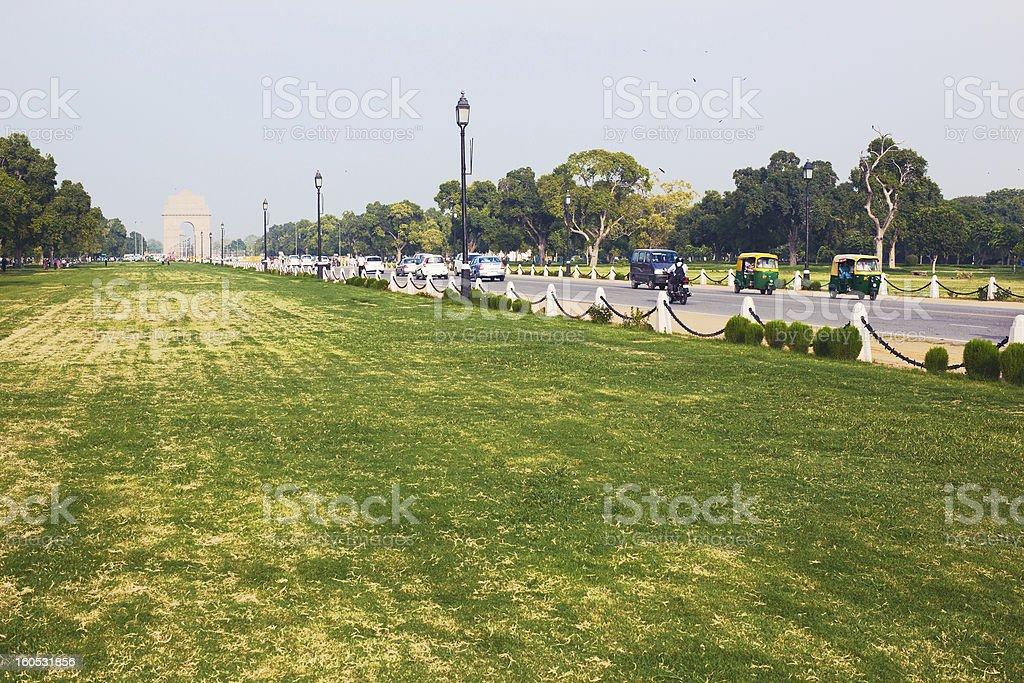 India Gate royalty-free stock photo