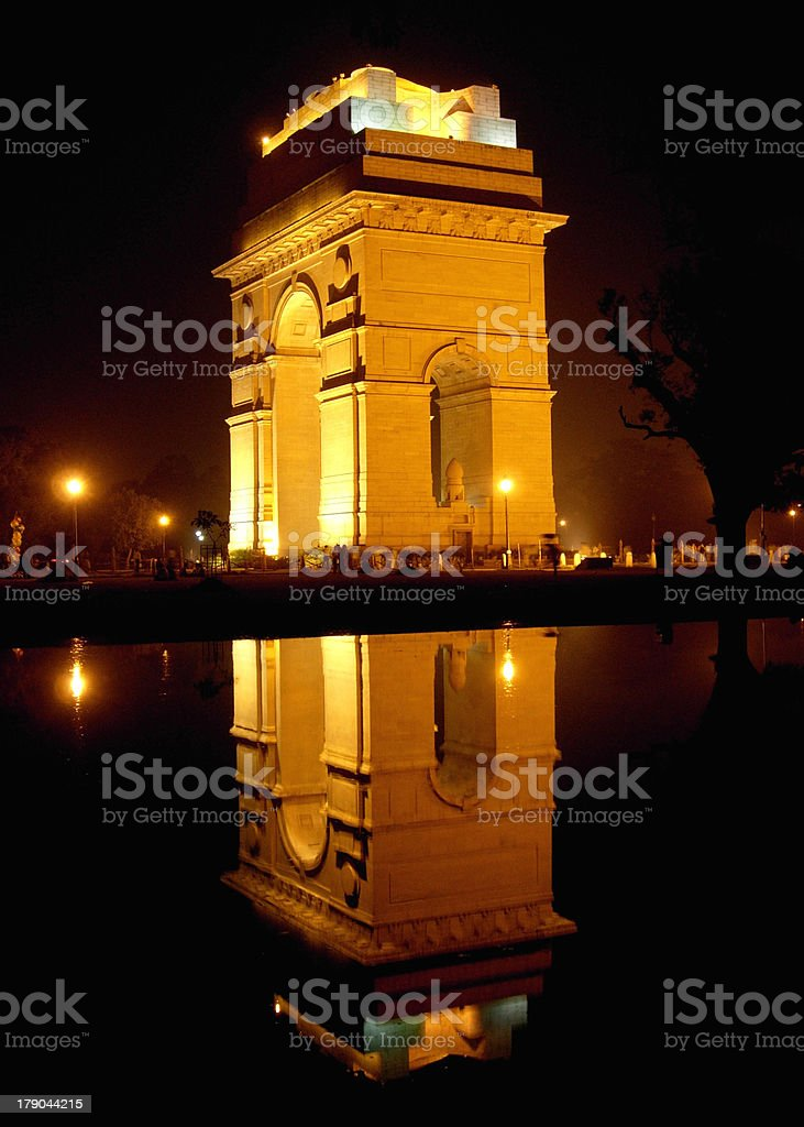 India gate royalty-free stock photo