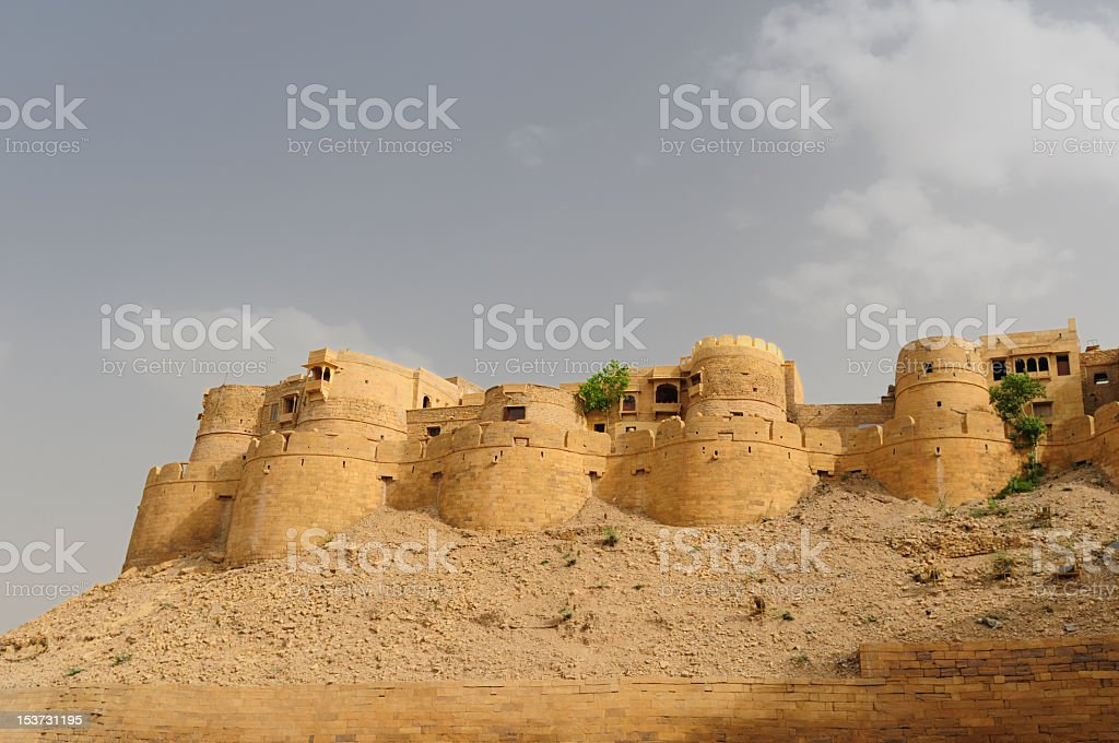 India - Jaisamler Fort royalty-free stock photo