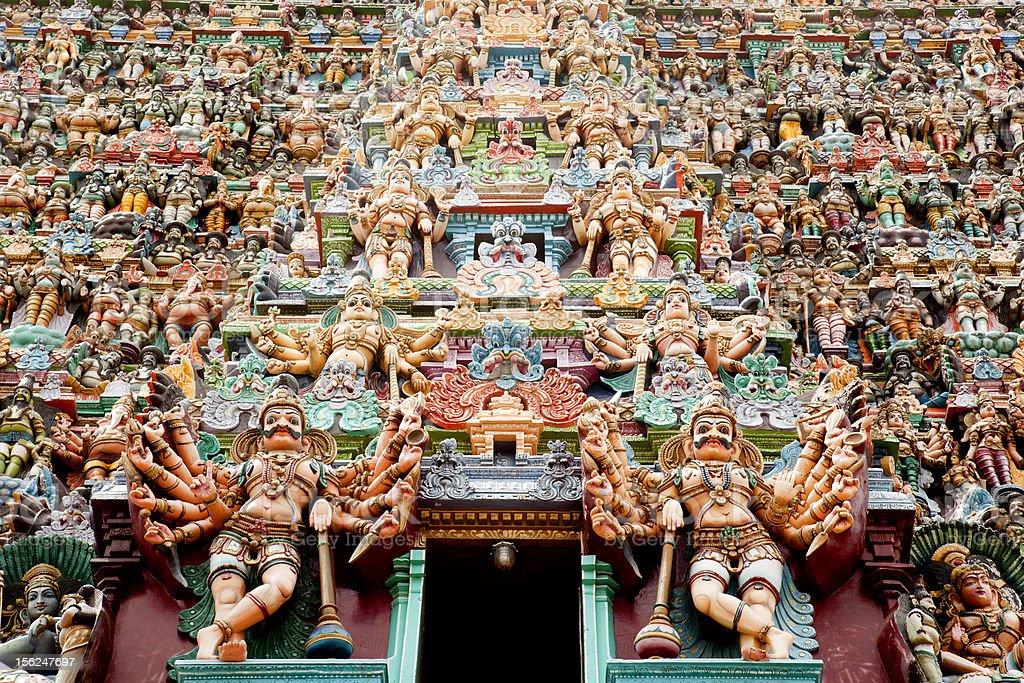 India - Meenakshi stock photo