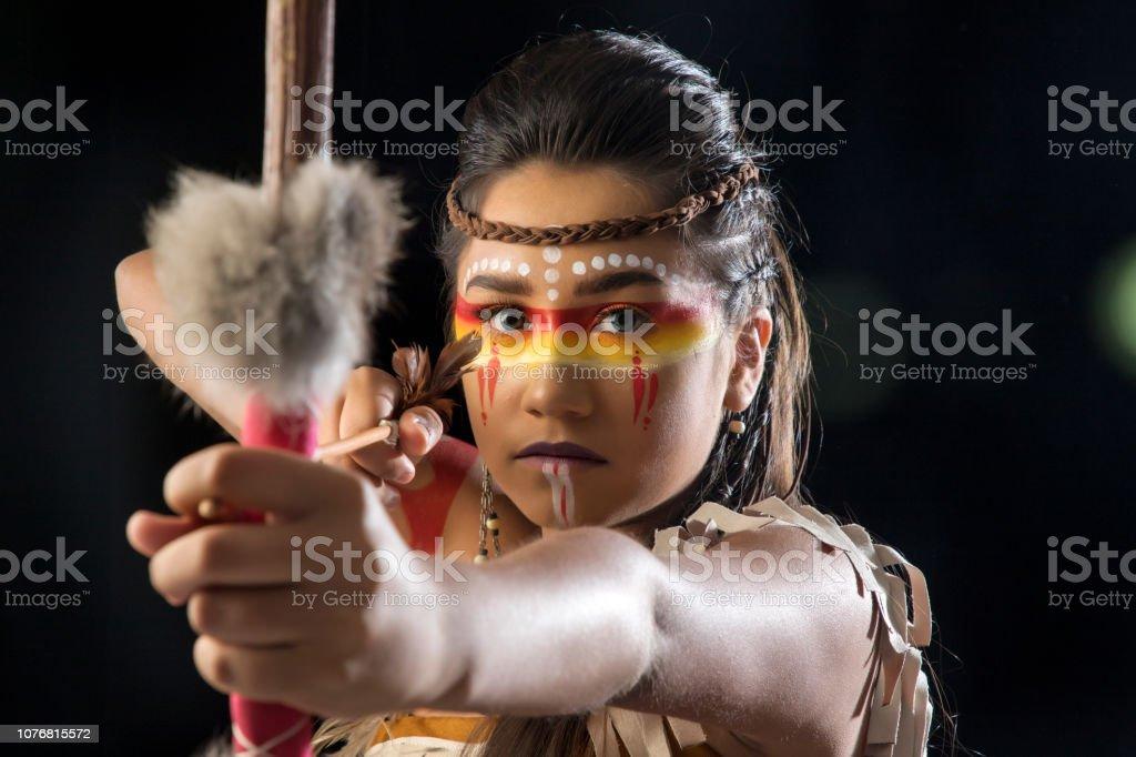 India nativa Americana Apache stock photo