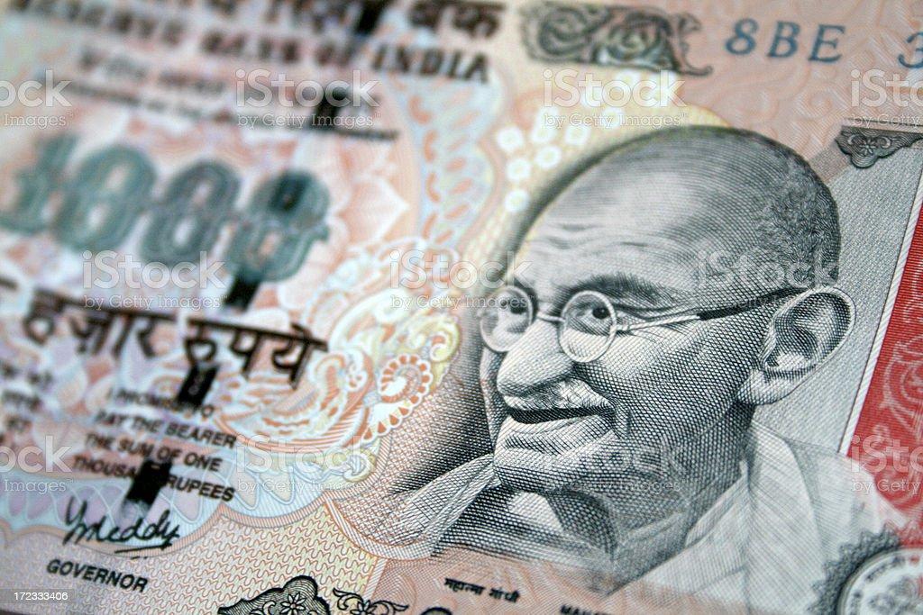 India Rupees royalty-free stock photo