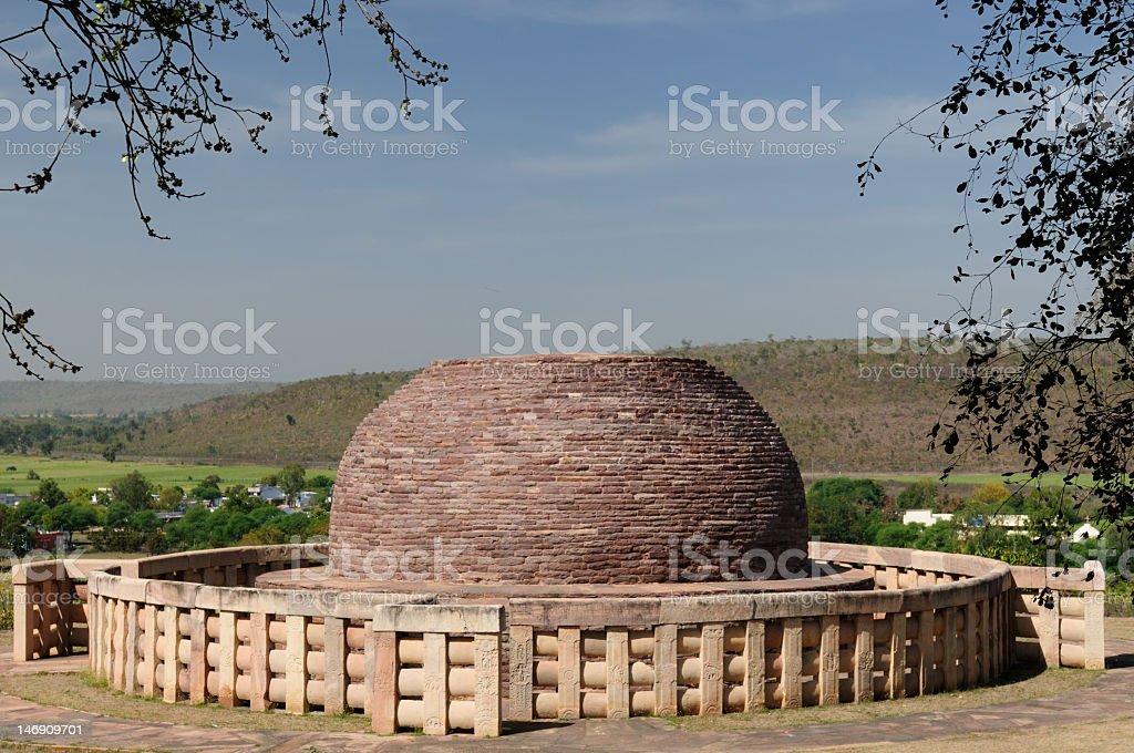 India - Sanchi stock photo