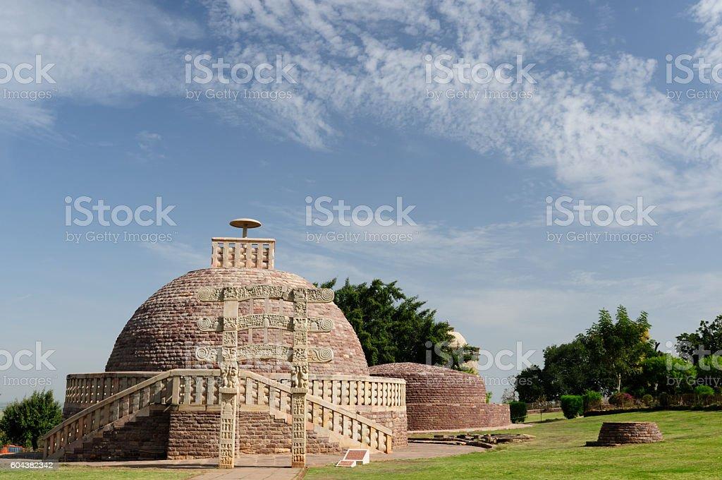India, Sanchi stock photo