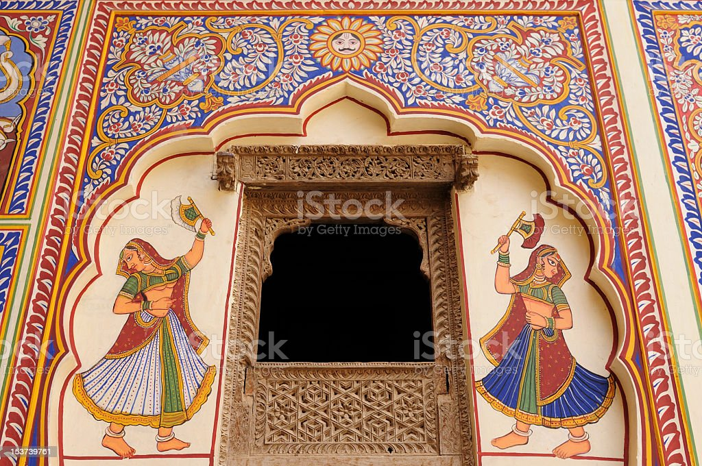 India - Shekhawati Hevelis stock photo